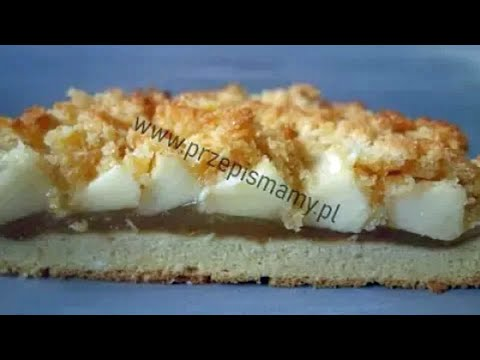 Jabłecznik Budyniowy Pod Pierzynką Kokosową! Jak Zrobić Ciasto Z Jabłkami I Kokosem