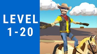 Cowboy Flip 3D Game Walkthrough Level 1-20