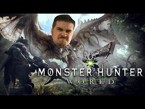 AJ Plays Monster Hunter: World! [BETA Impressions]