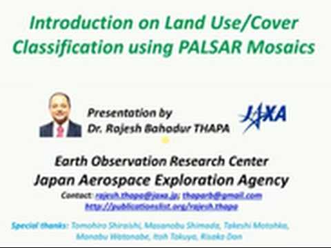 Let's SAR Land use and land cover classification (video tutorial)