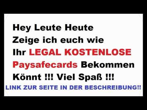 paysafecard codes kostenlos