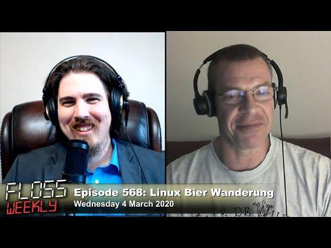Linux Bier Wanderung - FLOSS Weekly 568