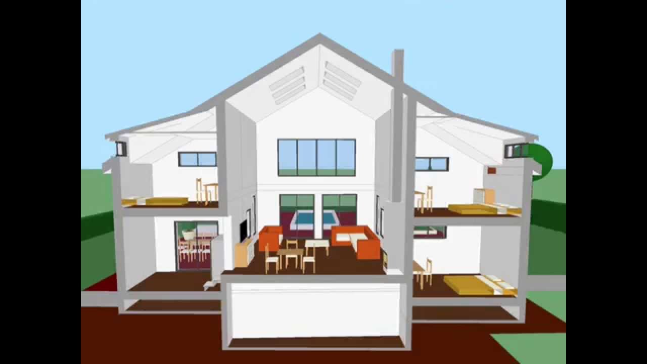 home designer 3d.  Architouch 3D for iPAd Design your home plan YouTube