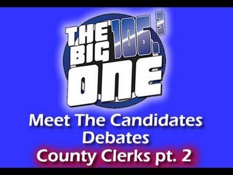 Bell County Clerk Meet The Candidates Debate pt 2