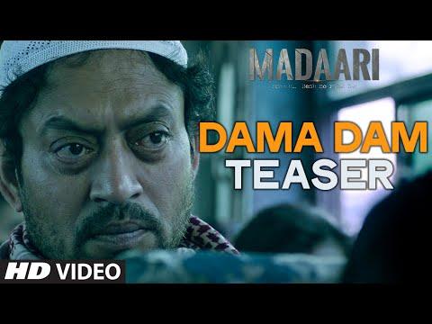 DAMA DAM Video Song (Teaser) | Madaari | Irrfan Khan, Jimmy Shergill | T-Series