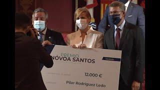 La doctora Pilar Rodríguez recibe el Premio Nóvoa Santos