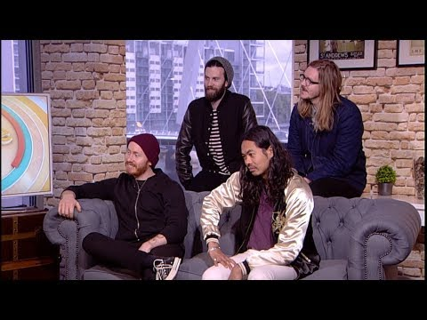 Interview with The Temper Trap, on Live At Five