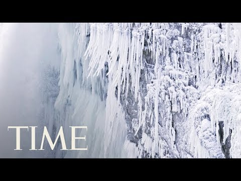 Niagara Falls Is Covered In Ice: 'Absolutely Beautiful' According To The Weather Channel | TIME