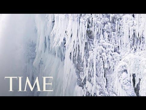 Niagara Falls Is Covered In Ice: