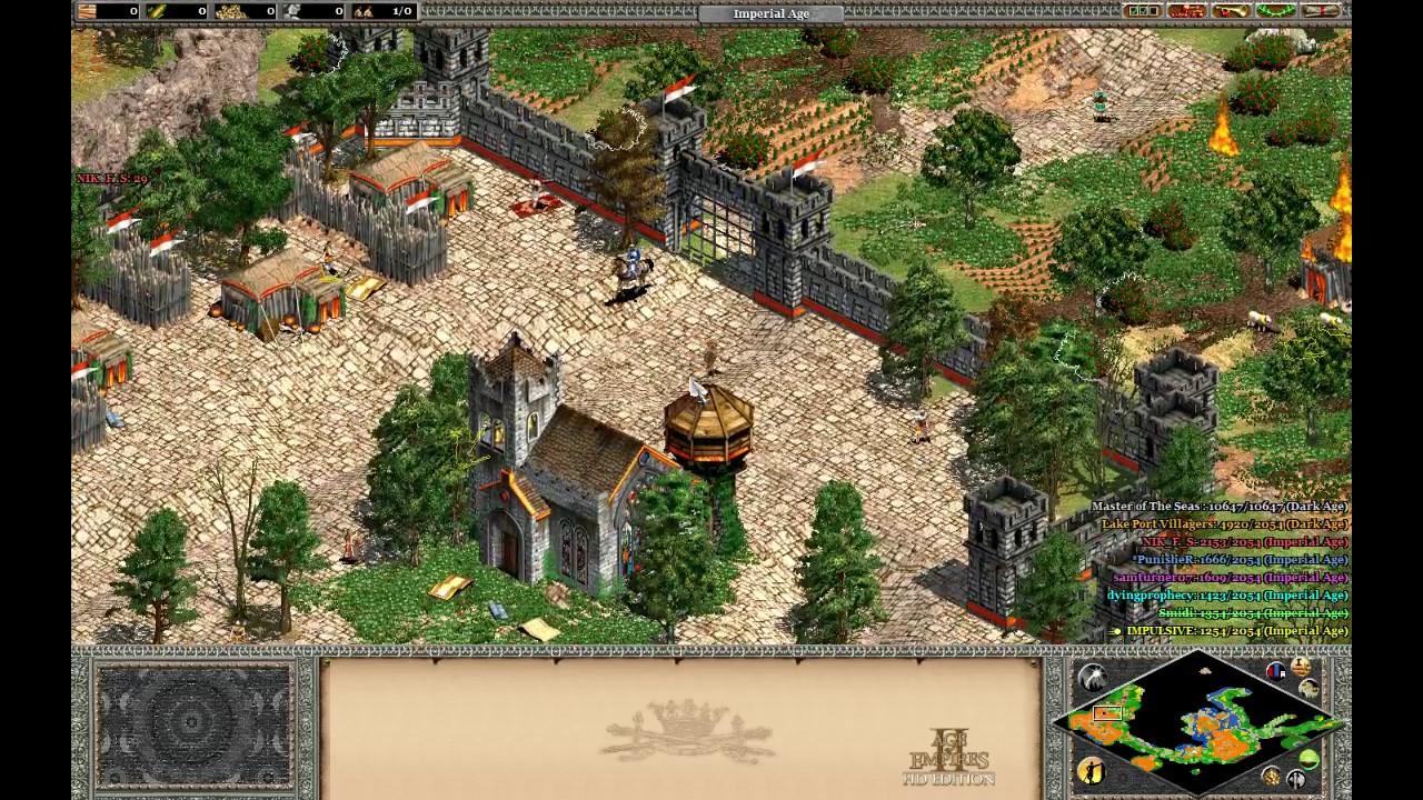 AoEII: HD - RPG Black Death Lake - Old School map on STEAM - YouTube
