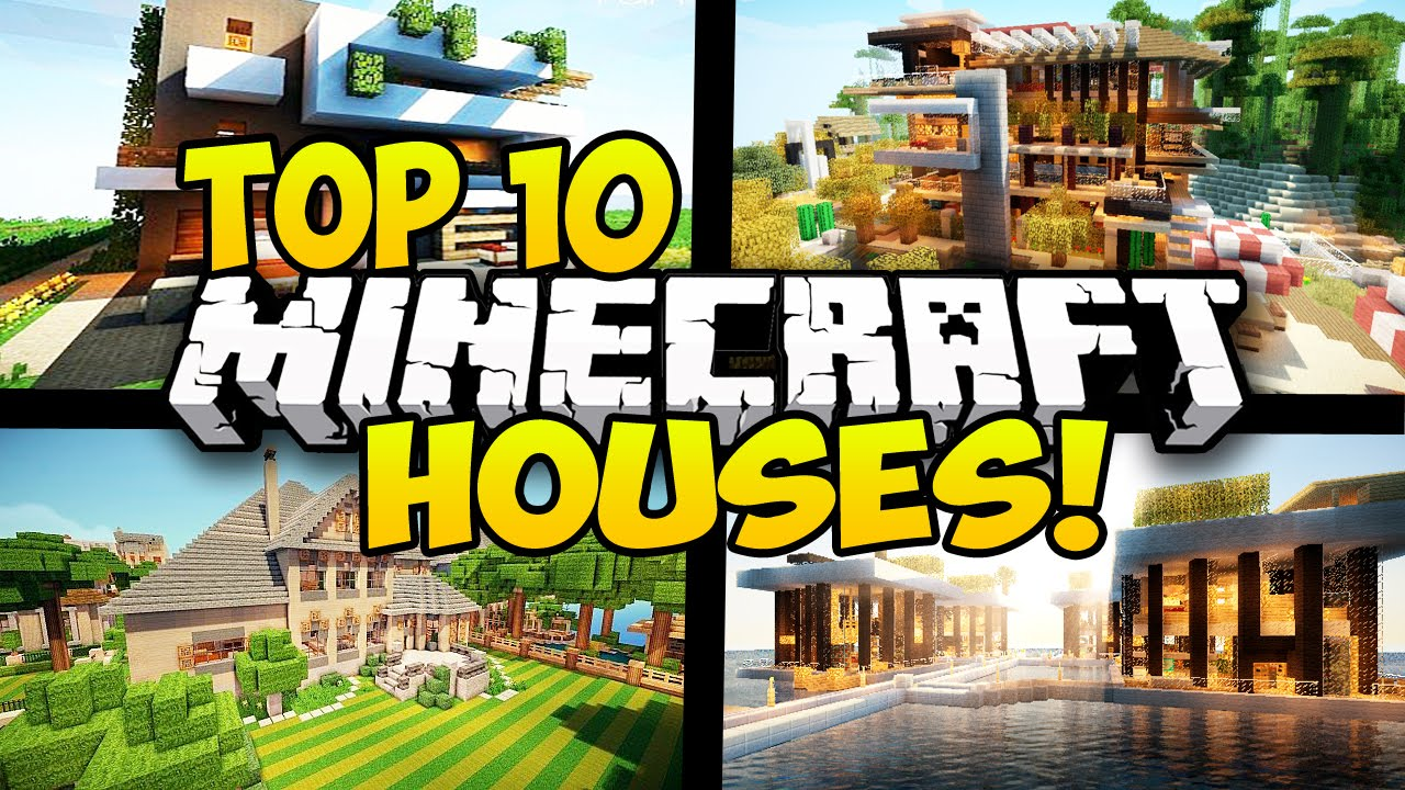 Top 10 best minecraft houses in minecraft minecraft top for Top ten home builders