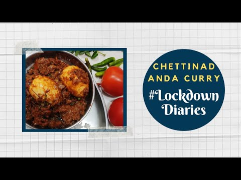 Chettinad Anda Curry | #LockdownDiaries | Chef Ankit | #TeamAtHome | Sanjeev Kapoor Khazana