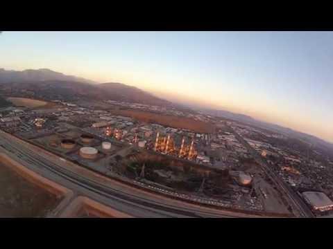 Sunset Flight Los Angeles