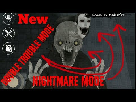 Eyes The Horror Game:Double Trouble Mode(Nightmare Mode)Full Gameplay[Mansion Map]