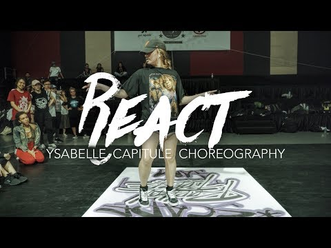 React - Erick Sermon | Ysabelle Capitule Choreography | Summer Jam Dance Camp 2017