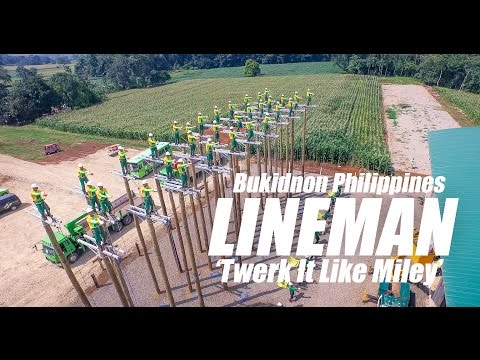 Twerk It Like Miley   Electrical LINEMAN BUSECO BUKIDNON, Ph