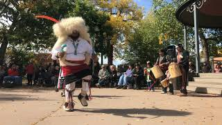 Indigenous Peoples Day Celebration 2017 - Laguna and Hopi Buffalo Dancers Clip 8