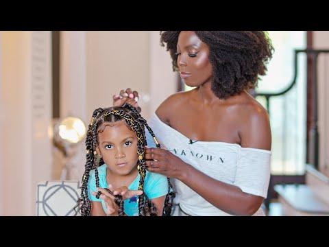 kids-protective-style-braids-tutorial-|-rubberband-method