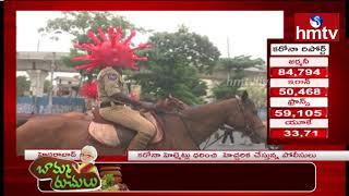Hyderabad Traffic Police Conduct Awareness Program On Coronavirus | hmtv