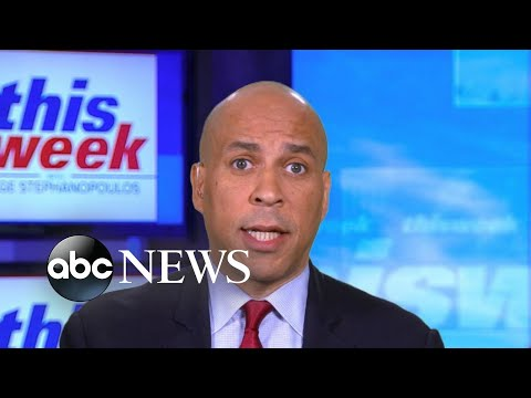 'Assaults on the Biden family are not relevant to the issues of this case': Booker  ABC News