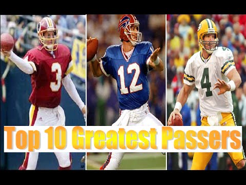 Top 10 Greatest Passers