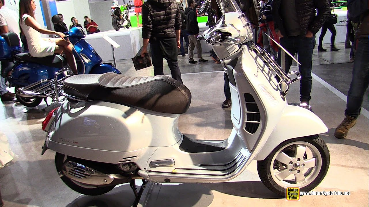 2015 vespa gts touring 300 scooter walkaround 2014. Black Bedroom Furniture Sets. Home Design Ideas