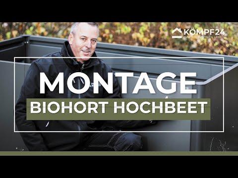 Biohort Hochbeet aufbauen: Tipps und Tricks