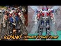 Repaint Transformers Ultimate Optimus Prime By Toytrick ทำสีออฟติมัส