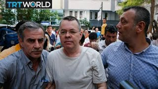 US pastor Andrew Brunson leaves Turkey