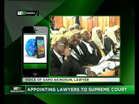 Appointing Lawyers to Supreme Court