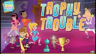 Fresh Beat Band of Spies | Trophy Trouble Adventure | Nick Jr Kids Game