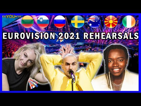 Eurovision 2021 Rehearsals - Day 1 Live Stream (From Press Center)