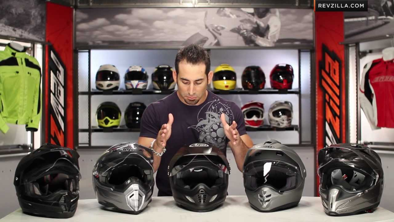 Top 5 Dual Sport Helmets  RideApart