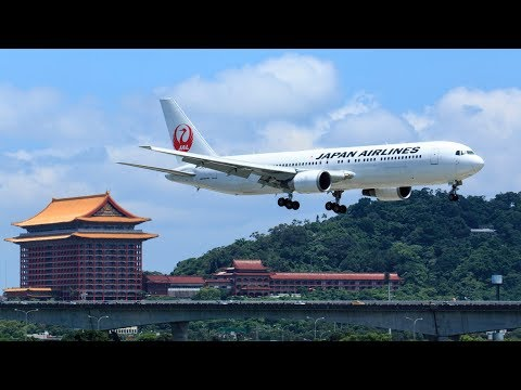 [4K] Plane Spotting Taipei Songshan Airport TSA 松山機場