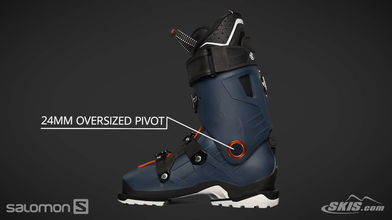 5b351b34b5af 2018 Salomon QST Pro 120 Mens Boot Overview by SkisDotCom - YouTube