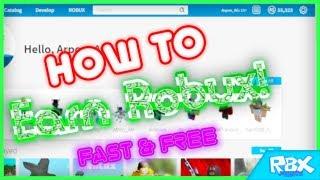 Comment gagner Robux gratuitement ( Légitime! et Rapide!! | Rbx Points []AVEC PROOF[]