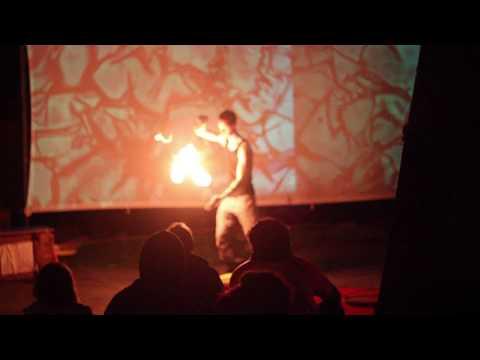 Gz poi - Sziget Fesztivál (Tűz zsonglőr)