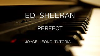 Ed Sheeran - Perfect - Tutorial & Sheets