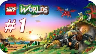 LEGO Worlds - Gameplay Español - Capitulo 1 - Una Gran Aventura nos Espera