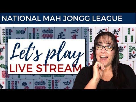 National Mah Jongg League Let's Play Livestream 20200511