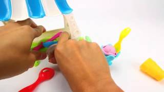 Play Doh Ice Cream Sundae Cart   YouTube Thumbnail