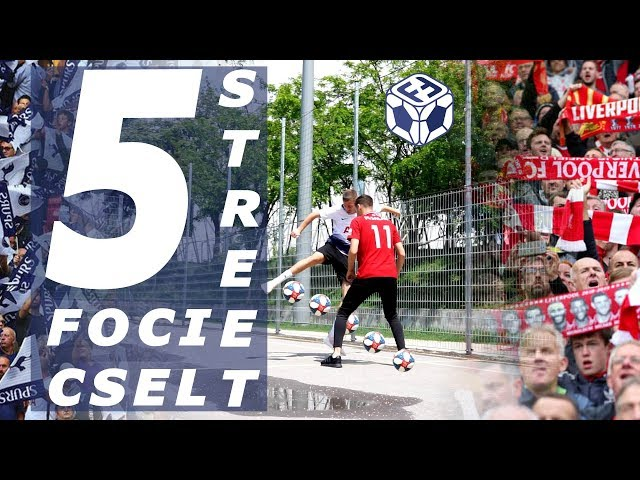 ⚽️ 5 STREET FOCI CSEL 🤯, amivel összezavarhatod az ellenfeledet😵