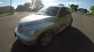 4K Review 2004 Chrysler PT Cruiser GT Turbo Virtual Test-Drive and walk around