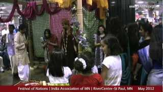 Indian Wedding Ceremony-2012-Festival of Nations [India Association of MN]