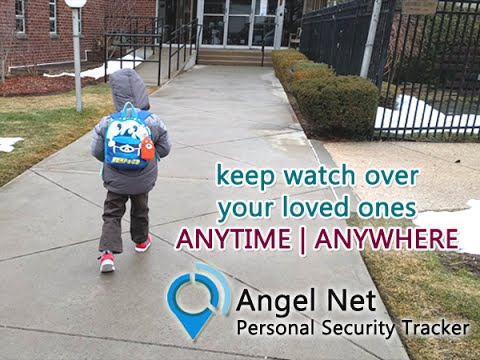 Angel Net personal GPS tracker perfect for children