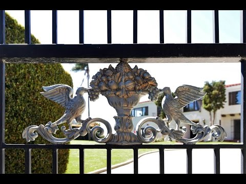 Gated Spanish Eclectic Estate in San Diego, California