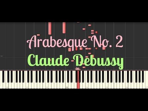 Arabesque No 2  Claude Debussy