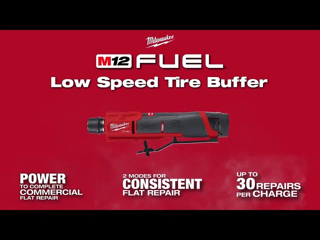 Milwaukee® M12 FUEL™ Low Speed Tire Buffer