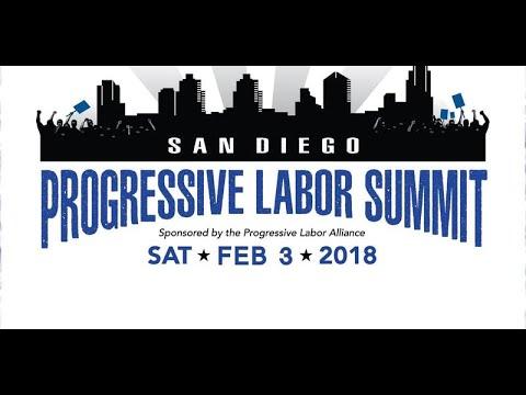 San Diego Progressive Labor Summit 2018