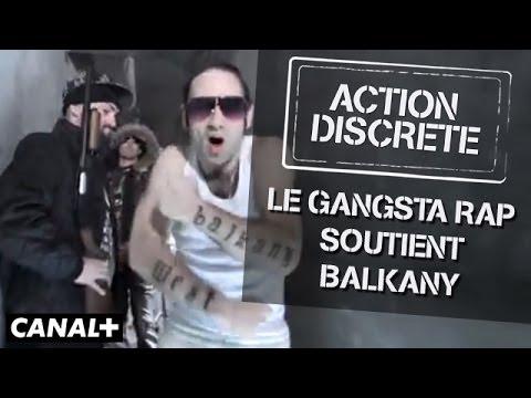 Le Gangsta Rap soutient Balkany - Action Discrète